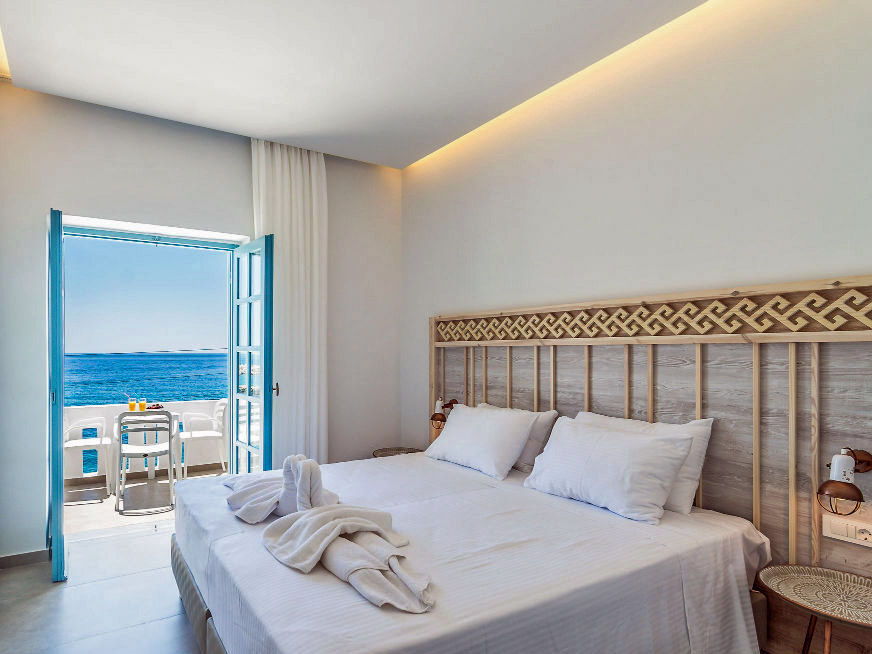 Kreta Rundreise - Hotelzimmmer Chora Sfakion