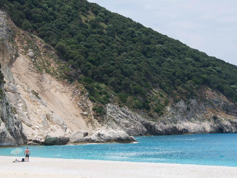 Ionische Inseln Kefalonia Reisen Strandurlaub