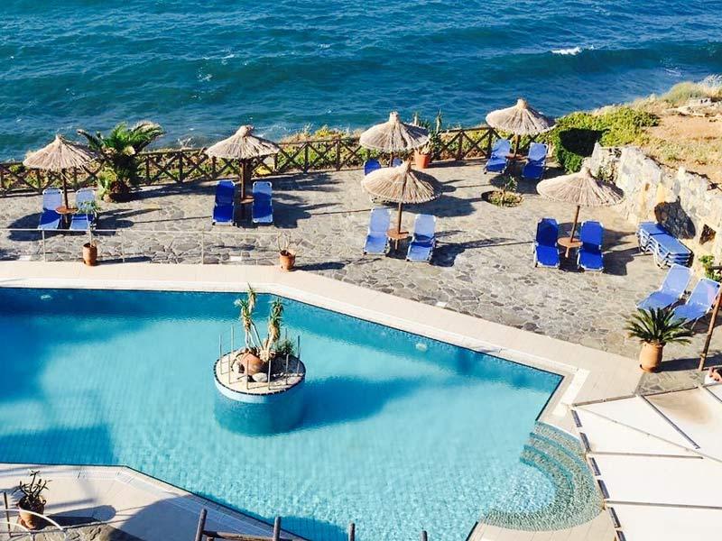 Hotel mit Pool auf Kreta