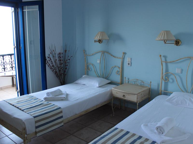 Hotelzimmer bei Kreta Reisen mit erlebe