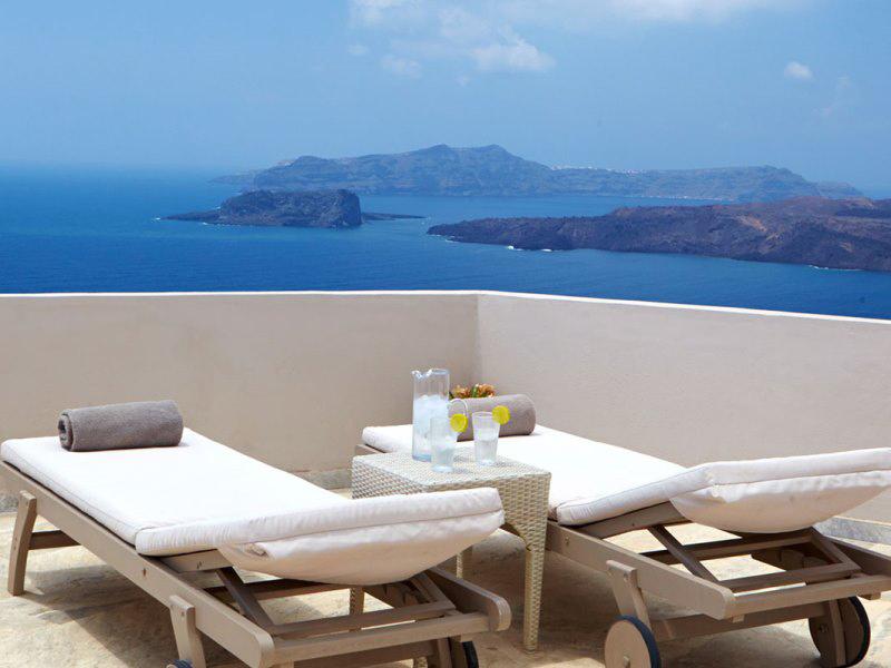 Terrasse Santorini