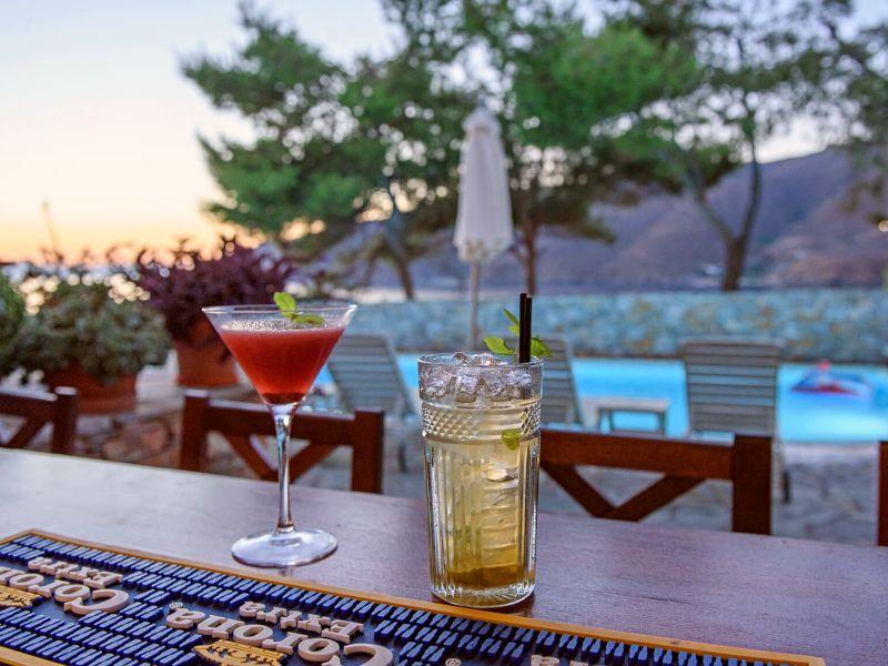 Amorgos Griechenland Kykladen Hotel mit Pool