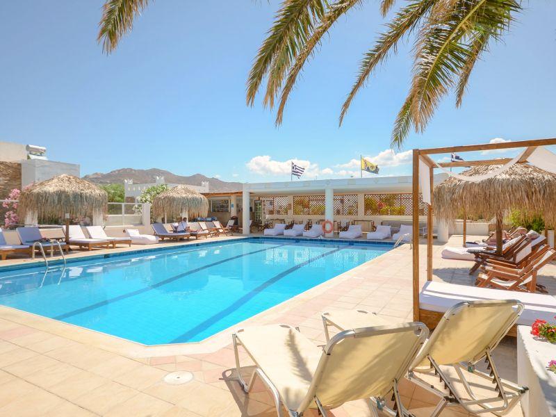 Hotel mit Pool auf Naxos bei Griechenland Rundreise