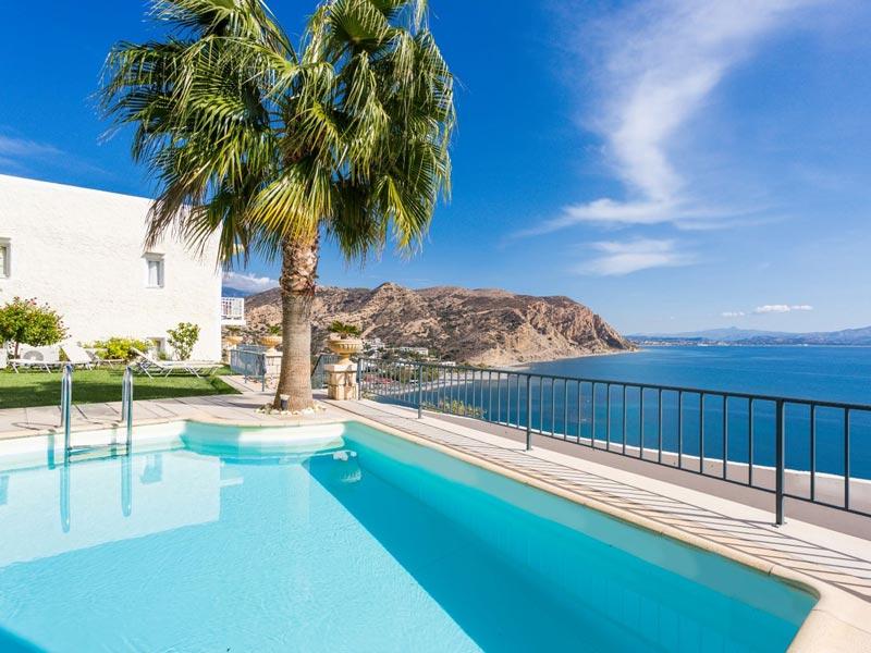 Kreta Rundreise - Pool mit Meerblick
